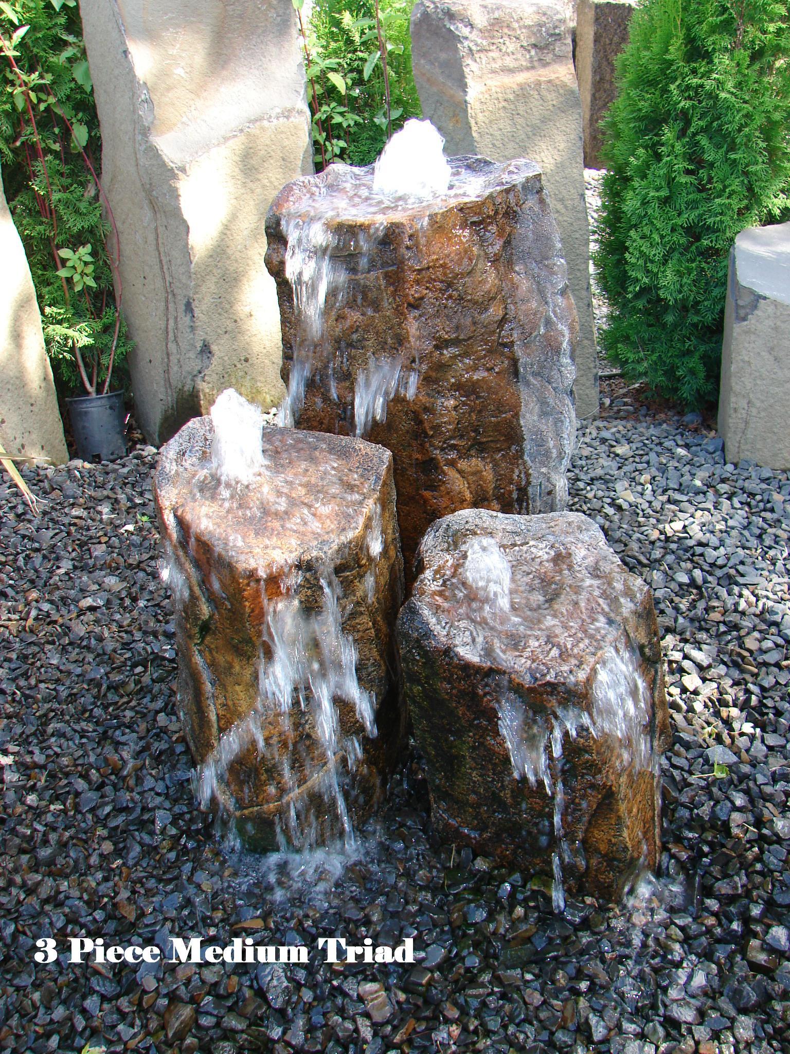 Concrete Works Statuary Inc 3 Piece Medium Triad