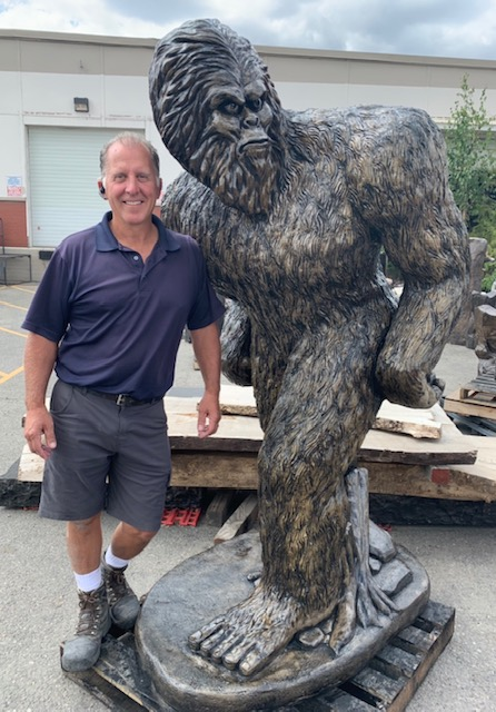 Concrete Works Statuary #6 Bigfoot