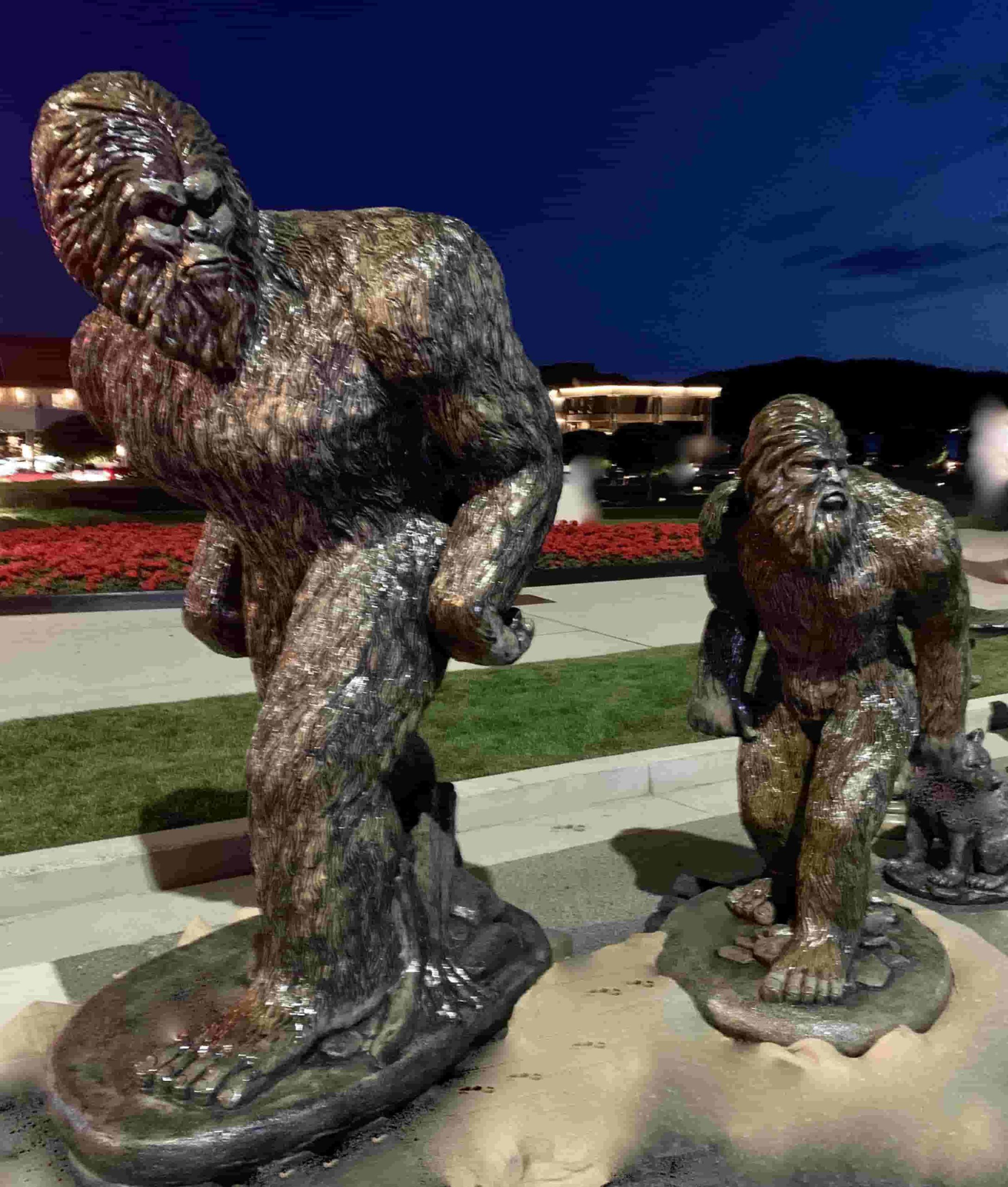 Concrete Works Statuary Inc Bigfoot