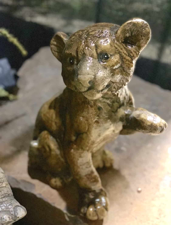 Concrete Works Statuary Inc Cougar Cub