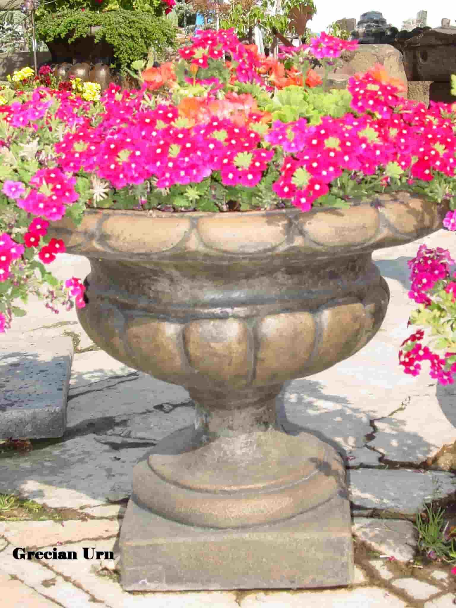 Concrete Works Statuary Inc Grecian Urn