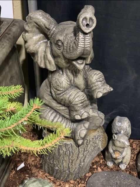 Concrete Works Statuary Inc Large Elephant Face On