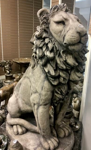 Concrete Works Statuary Inc Leo the Lion