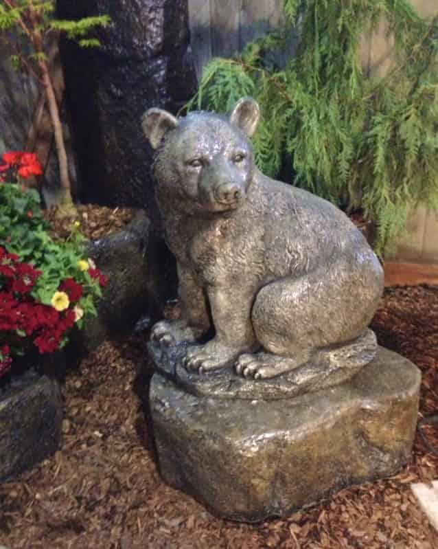 Concrete Works Statuary Inc Medium Sitting Bear
