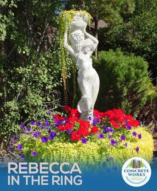 Concrete Works Statuary Inc Rebecca Fountain
