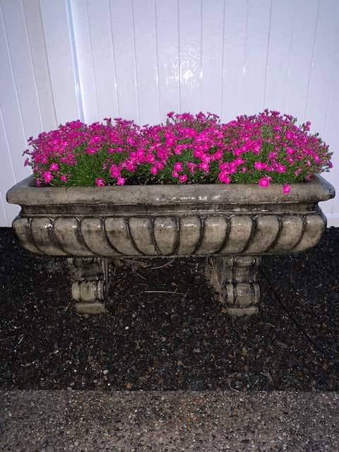 Concrete Works Statuary Inc Rectangle Planter