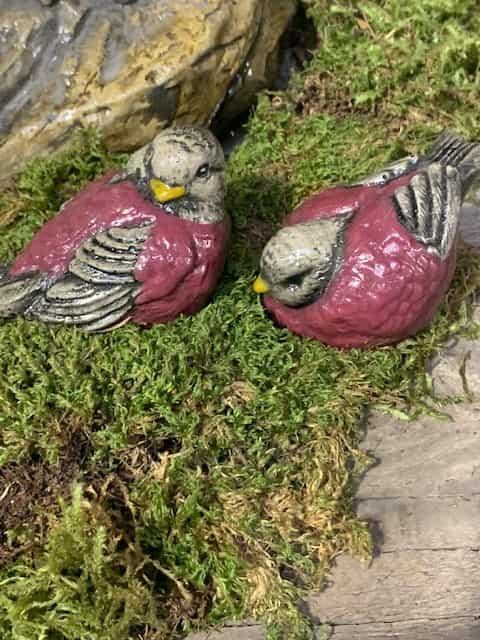 Concrete Works Statuary Inc Sparrows