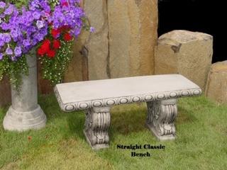 Concrete Works Statuary Inc Classic Bench