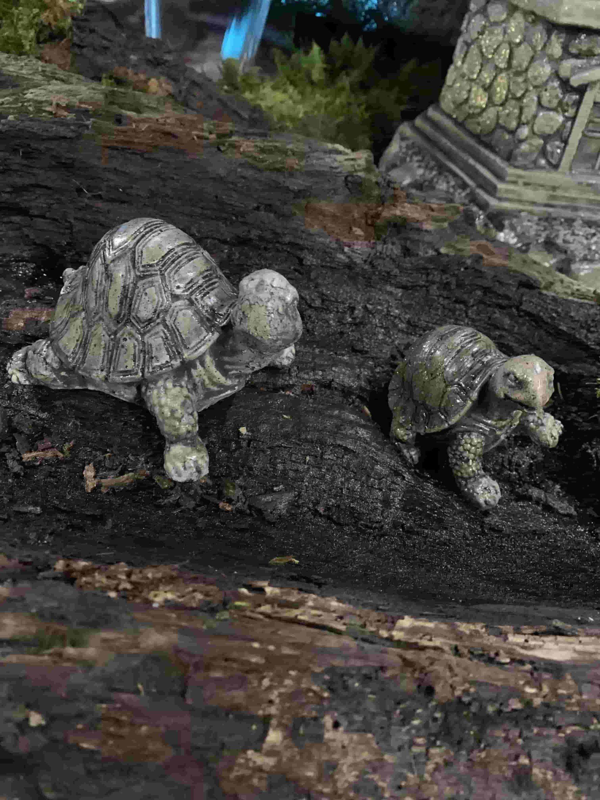 Concrete Works Statuary Tiny Turtles