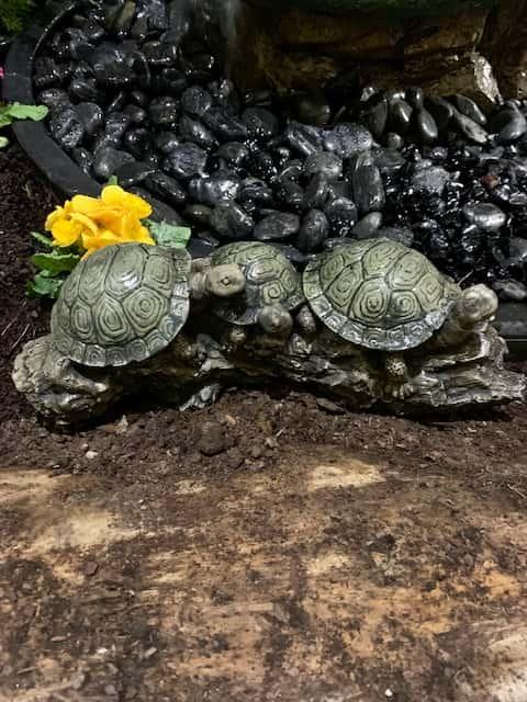 Concrete Works Statuary Inc Turtle Family