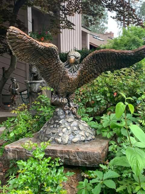 Concrete Works Statuary Inc Large Eagle